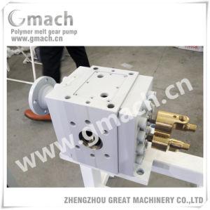 Faire fondre en caoutchouc haute pression pompe à engrenages pour ruber extrudeuse