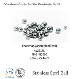 SS304 G200 7/8 a esfera de aço inoxidável (SGS aprovado) para mídia de moagem