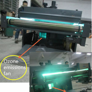 Macchina di rivestimento multifunzionale di effetto del fiocco di neve per il pavimento di legno con i tubi UV di illuminazione