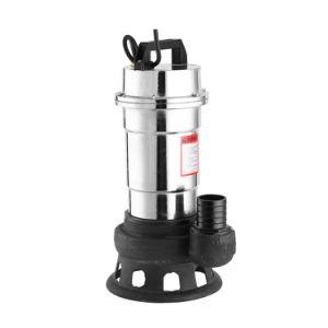 Phase unique de 2 pouces de la pompe d'eaux usées Super Wqd des eaux usées de débit des pompes à eau