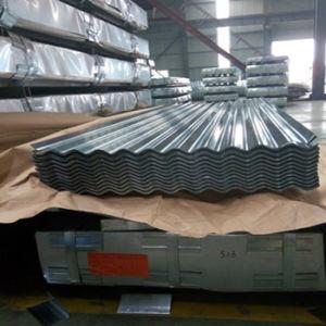 (0.125-0.5mm) Strato d'acciaio ondulato del tetto del materiale da costruzione Dx51d PPGI PPGL