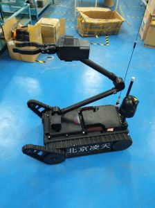 Robô Eod Er3 operados flexível na eliminação Ordance explosiva