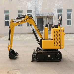 Il piccolo escavatore fissa il prezzo del macchinario di costruzione dell'escavatore del cingolo da 1.0 tonnellate