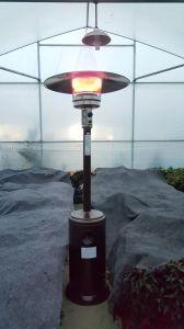 Cómodo 12kw Aquecedores de pátio de design em aço inoxidável
