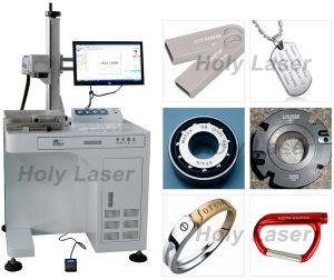 Prezzo economico, macchina per incidere d'acciaio della marcatura del laser della fibra del metallo