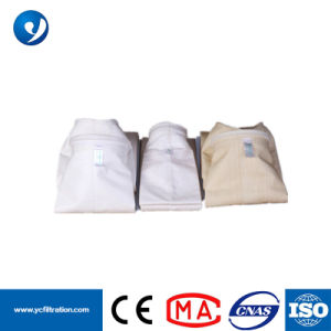 Manicotti del filtrante del sacchetto filtro/polvere dell'accumulazione di polvere del PE