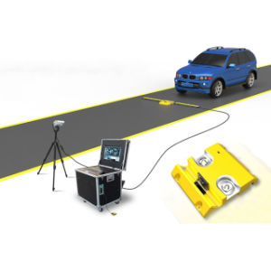 Сканирование автомобиля под автомобиль проверка машины под автомобиль сканер системы контроля безопасности на дороге