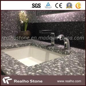 Le polissage Terrazzo de comptoirs en marbre pour salle de bains