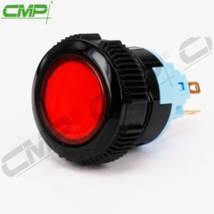 CMPによって照らされる瞬時のプラスチック押しボタンスイッチ