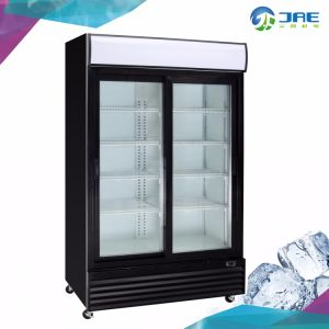 Vidrio de alta calidad comercial de la puerta de refrigerador