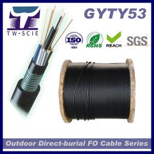 48 Kabel van de Optische Vezel van Sm van de kern de Gepantserde GYTY53