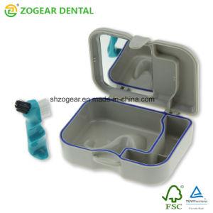 [ت038] [زوجر] طقم أسنان صندوق مع مرآة وفرشاة