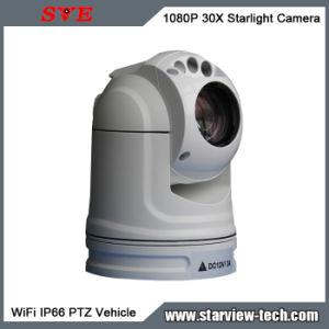 1080P 30X WiFi Starlight de vigilancia CCTV cámara PTZ Waterproof vehículo