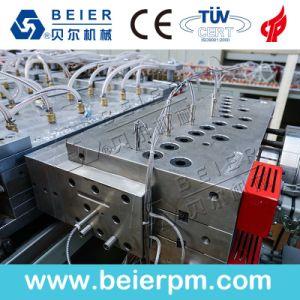 WPC 목제 플라스틱 PVC 문 위원회 밀어남 생산 라인