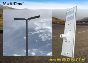 統合された100Wか1つの太陽動力を与えられた街灯のすべては/太陽街灯を統合した