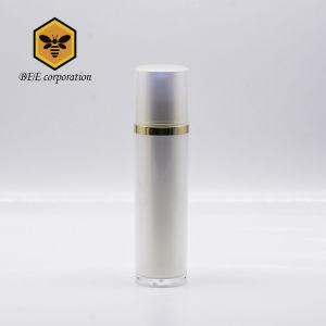 Pearl White Cosmetic bouteille en plastique acrylique pour l'emballage de bouteille en bouteille (BAQ-50)