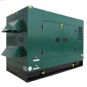 Tipo de silencioso 10kw Biogás do Conjunto do Gerador