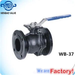 Brida ANSI 2 piezas de la clase de válvula de bola150