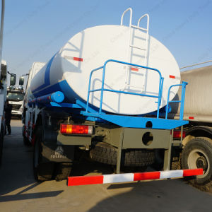 HOWOの頑丈な燃料タンクの輸送のトラック
