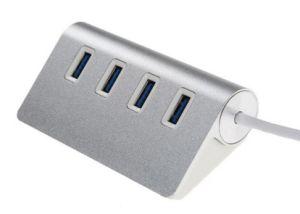 Ультратонкий портативный 4 порта USB Multi 3.0 концентратор USB, клавиатуре и мыши телефон флэш-накопитель данных зарядка аккумуляторной батареи
