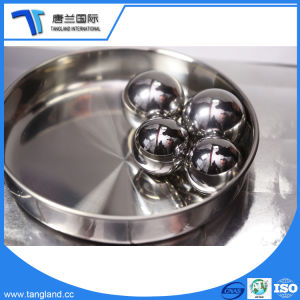 Esfera de aço de alta qualidade para o rolamento
