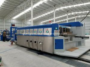 Stampa automatica di Flexo del cartone ondulato 1200*2800 che scanala la macchina tagliante della scatola