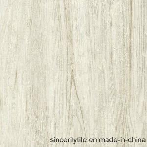 Natuurlijke Houten wat betreft de Rustieke Tegel van de Badkamers van het Porselein van de Vloer