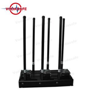 Systeem van de Vliegtuigen van de Stoorzender van de hommel het Onbemande, GPS Stoorzender, Stoorzender Cellphone voor 3G, 4G Slimme Cellphone, wi-FI, Bluetooth