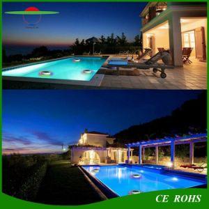 Dekoration-Wasser-Solarlicht des 12LED RGB Swimmingpool-IP68 Fernsteuerungssich hin- und herbewegendes LED