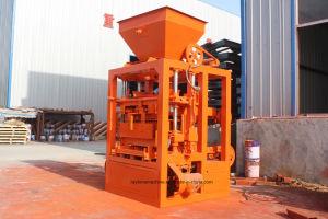 Pavimentadora de máquina para fazer blocos sólidos4-26 Qt máquina de tijolos de Pedra