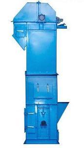 강철 수직 컨베이어 벨트 기계장치 수직 물통 엘리베이터