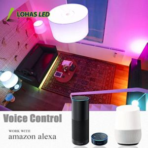 UL listed de venda superior a 9 W19 Lâmpada LED Inteligente WiFi RGB