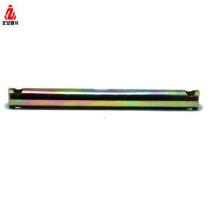 En acier inoxydable usiné automatique personnalisée DIN975 Square de la tige filetée et écrou