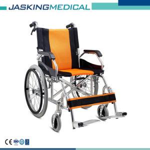 Стандартная заводская цена Ce удобной престарелых алюминия ручной инвалидная коляска для инвалидов (JX-773LAJPF4)