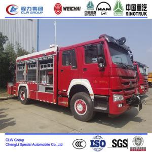 Пожарная HOWO спасения оборудование погрузчика