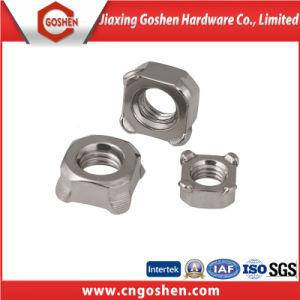 La norme DIN 928 carré de l'écrou de soudure en acier inoxydable