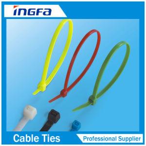 De zelfsluitende Plastic Nylon Banden van de Kabel met de Bal van het Staal