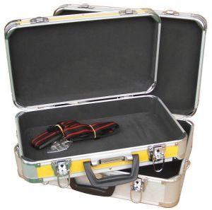 Llevar encargo portátil caja de aluminio