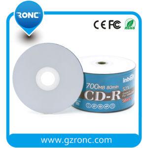 Enige CD van Inkjet van de Kleur van het Gezicht van de Laag Volledige Witte Geschikt om gedrukt te worden Lege