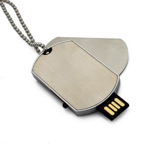 締縄の軍隊のドッグタッグUのディスクのフラッシュ駆動機構USB OEM