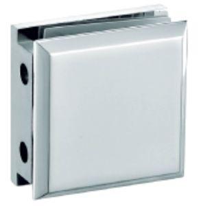 180 Grau único lado vidro chuveiro Braçadeira (FS-537)