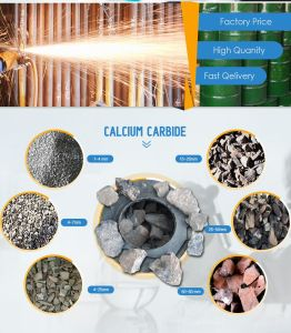 Het Carbide GB295L/Kg, de Chemische producten van het calcium van de Fabriek