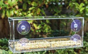 Meilleure vente de l'acrylique Nid d'oiseau avec 4 ventouses à usage intensif