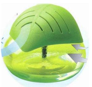 Fabrik-Blatt-geformter wasserbasierter Luft-Reinigungsapparat