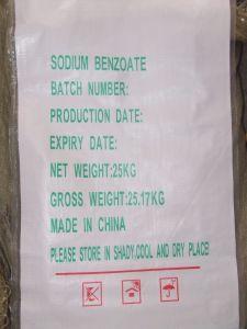 Numéro du benzoate de sodium CAS de catégorie comestible : 532-32-1