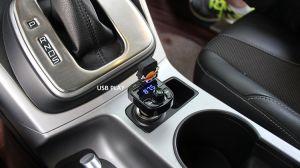 3.1A Cargador rápido de manos libres Bluetooth USB Dual Kit de cargador de coche