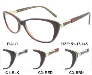 De met de hand gemaakte Glazen van de Douane Eyewear vormen Nieuwe Model Optische Frames