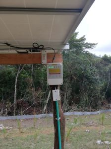 O Solar da turbina da bomba de água de poços com bomba centrífuga de alta qualidade preço da máquina para irrigação agrícola (4SPSC6.0/80-D72/1000)
