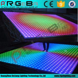 Etapa LED Discoteca Digital de la boda de la luz de la pista de baile