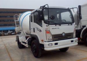 Sinotruck 4cbm 4X2 de Vrachtwagen van de Concrete Mixer